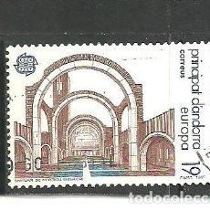 Sellos: ANDORRA ESPAÑOLA 1987 - EDIFIL NRO. 196 - USADO -. Lote 268414374