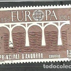 Sellos: ANDORRA ESPAÑOLA 1984 - EDIFIL NRO. 179 - USADO -. Lote 268414754