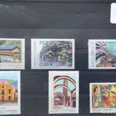 Sellos: ANDORRA - AÑO 2001 COMPLETO - NUEVOS - PERFECTOS - CON SU GOMA ORIGINAL. Lote 269622433