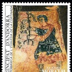 Sellos: [27] 1987 ANDORRA FRANCESA YV 363 IGLESIA ROMANICA SAN CERNI DE NAGOL ** MNH PERFECTO ESTADO (YVE. Lote 270748758