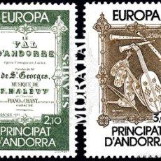 Sellos: [27] 1985 ANDORRA FRANCESA YV 339/340 EUROPA CEPT ** MNH PERFECTO ESTADO (YVERT&TELLIER). Lote 270748778