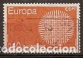 ANDORRA FRANCESA - EUROPA 1970 - YVERT 202 USADO (Sellos - Extranjero - Europa - Andorra)