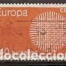 Sellos: ANDORRA FRANCESA - EUROPA 1970 - YVERT 202 USADO. Lote 276355563