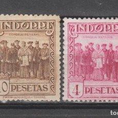 Sellos: ANDORRA,1929. EDIFIL 25 Y 26.. Lote 276823268