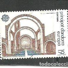Sellos: ANDORRA ESPAÑOLA 1987 - EDIFIL NRO. 196 - USADO -. Lote 277117753