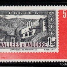 Francobolli: ANDORRA 304** - AÑO 1982 - 1ª EXPOSICION OFICIAL DEL SELLO DE ANDORRA. Lote 277514298