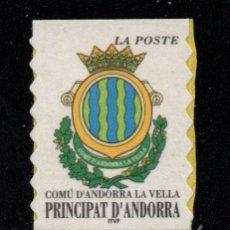 Sellos: ANDORRA 528*** - AÑO 2000 - ESCUDO DE ANDORRA LA VIEJA. Lote 28369496