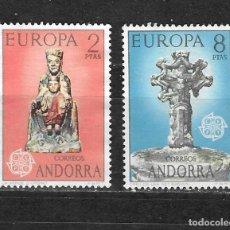 Sellos: ANDORRA ESPAÑALA Nº 81 AL 82 (0). Lote 287995778