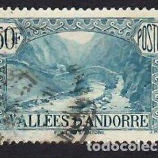 Selos: ANDORRA, CORREO FRANCÉS. PUENTE DE SANT ANTONI. YVERT Nº 92. USADO. MUY BUEN ESTADO.. Lote 288104968