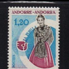 Sellos: ANDORRA 250** - AÑO 1975 - AÑO INTERNACIONAL DE LA MUJER. Lote 293828083