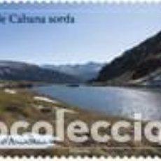 Selos: SELLO NUEVO DE ANDORRA FRANCESA 2021, ESTANQUE CABANA SORDA. Lote 294058568