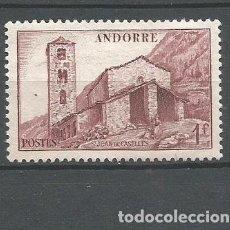 Sellos: ANDORRA FRANCESA YVERT NUM. 100 NUEVO SIN GOMA. Lote 294074358