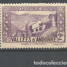 Sellos: ANDORRA FRANCESA YVERT NUM. 25 * NUEVO CON FIJASELLOS. Lote 294074958