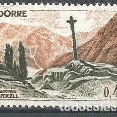 Sellos: ANDORRA FRANCESA YVERT NUM. 159A * NUEVO CON FIJASELLOS. Lote 294075978