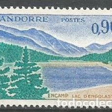 Sellos: ANDORRA FRANCESA YVERT NUM. 163A * NUEVO CON FIJASELLOS. Lote 294076458