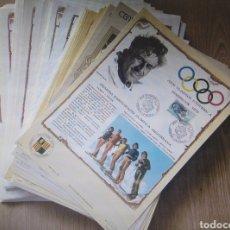Sellos: HOJAS MÁXIMAS SELLOS ANDORRA FRANCESA 1976/1992. LOTE 116 EDICIONES AFA. VER DESCRIPCIÓN. Lote 294828053