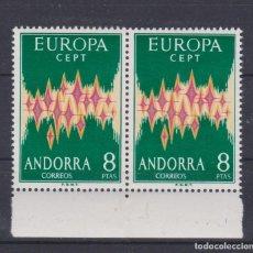 Sellos: ANDORRA 1972. EUROPA CEPT 8 PTS PAREJA**. +230 €. VER. Lote 295764408