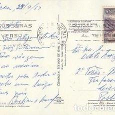 Sellos: ANDORRA & CIRCULADO, BONICS PAISATGES ANDORRANS, MULTI, LA VIEJA A LISBOA 1969 (2040). Lote 297107713