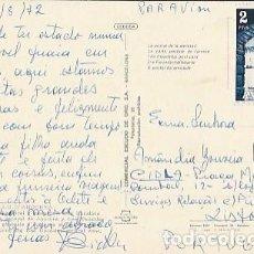 Sellos: ANDORRA & CIRCULADO, VALLS DE ANDORRA, VISTA GENERAL DE ANDORRA Y LES ESCALDES, LISBOA 1972 (2058). Lote 297116728