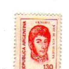 Sellos: 130 PESOS (GENERAL JOSÉ DE SAN MARTIN). ARGENTINA.. Lote 9895254