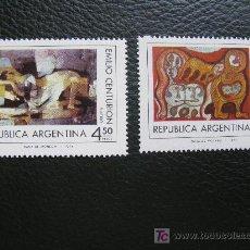 Sellos: ARGENTINA 1975 PLASTICA ARGENTINA. Lote 10249739