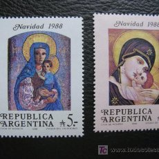 Sellos: ARGENTINA 1988 NAVIDAD. Lote 10250285