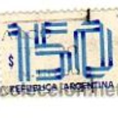 Sellos: ARGENTINA - 150 $ PESOS. Lote 13579453