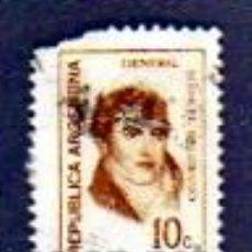 Sellos: REPÚBLICA ARGENTINA - 10 C - GENERAL MANUEL BELGRANO. Lote 13591903