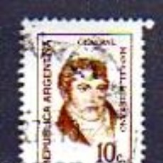 Sellos: REPÚBLICA ARGENTINA - 10 C - GENERAL MANUEL BELGRANO. Lote 13591917