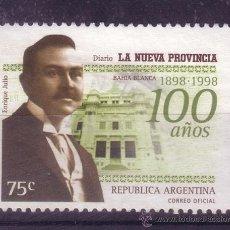 Sellos: ARGENTINA 2071 - AÑO 1998 - CENTENARIO DEL DIARIO LA NUEVA PROVINCIA. Lote 13604825