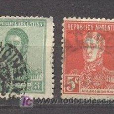 Sellos: ARGENTINA, 2 SELLOS USADOS. Lote 18559184