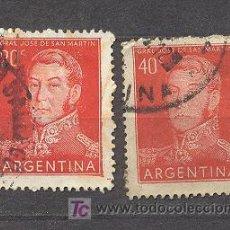 Sellos: ARGENTINA, 2 SELLOS USADOS. Lote 18559268