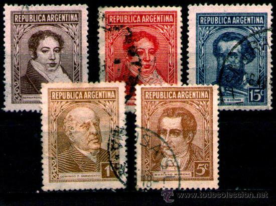 LOTE SELLOS ARGENTINA /PERSONAJES CELEBRES/MANDATARIOS/PRESIDENTES (AHORRA COMPRANDO MAS SELLOS (Sellos - Extranjero - América - Argentina)