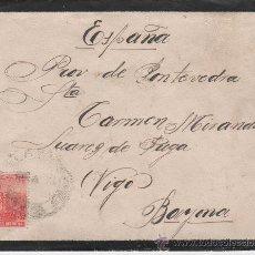 Sellos: SOBRE REPUBLICA ARGENTINA - VIGO - BAYONA - 21 SEPTIEMBRE 1913. Lote 24322735