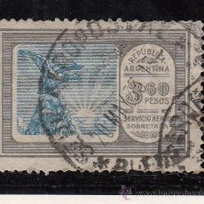 Sellos: ARGENTINA A 19 USADA, CONDOR, . Lote 26492965