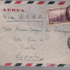 Sellos: CARTA DE ARGENTINA A SEVILLA. DE 18 DE ABRIL DE 1946.. Lote 26765918