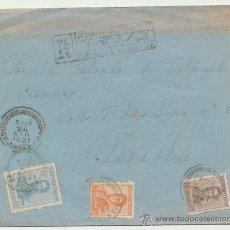 Sellos: CARTA DE CENTRO SAN CARLOS -ARGENTINA A SEVILLA. DE 24 AGOSTO 1921.. Lote 26781526