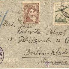 Sellos: SOBRE CENSURA MILITAR DE BUENOS AIRES AL BERLÍN ALIADO - AÑO 1947 - CENSURA BRITÁNICA - VIA AÉREA. Lote 28649701