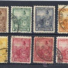 Sellos: ARGENTINA - 1899 / 03 - MICHEL - 99 / 104 ( * ). Lote 29812126