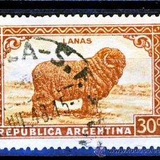 Sellos: ARGENTINA.- LANAS.-(1). Lote 30113215