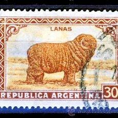 Sellos: ARGENTINA.- LANAS.-(3). Lote 30113353