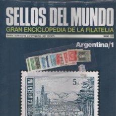 Sellos: SELLOS DEL MUNDO-GRAN ENCICLOPEDIA DE LA FILATELIA Nº. 100 ( ARGENTINA ) PRECINTADO. Lote 33708135
