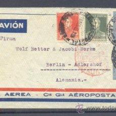 Sellos: 1933.- BUENOS AIRES (ARGENTINA) A BERLIN (ALEMANIA). Lote 35410285