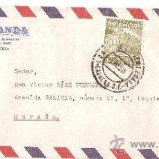 Sellos: SOBRE COMERCIAL SELLO VENEZUELA AÑO 1965- BANCO MIRANDA. Lote 35908477