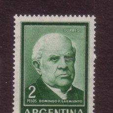 Sellos: ARGENTINA 662*** - AÑO 1963 - DOMINGO F. SARMIENTO. Lote 36249571