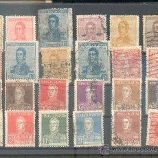 Sellos: LOTE CON 24 SELLOS DEL GENERAL SAN MARTÍN.- 1917/1924. Lote 38625650