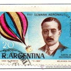 Sellos: ARGENTINA.- SELLO YVERT Nº 822 EN USADO. Lote 42784662