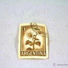 Sellos: SELLO DE ARGENTINA DE 1 PESO. USADO. Lote 42881719