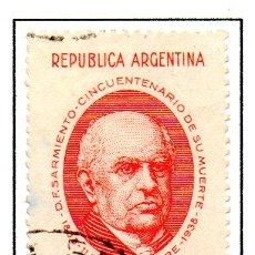 Sellos: ARGENTINA.- SELLO YVERT Nº 388 EN USADO. Lote 45083296