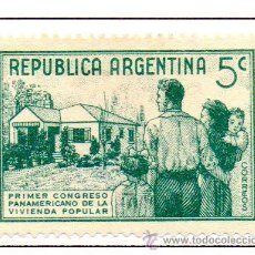 Sellos: ARGENTINA.- SELLO YVERT Nº 408 EN NUEVO. Lote 45083356